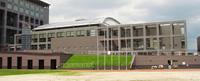 福岡県総合福祉センター「クローバープラザ」アリーナ棟事務室